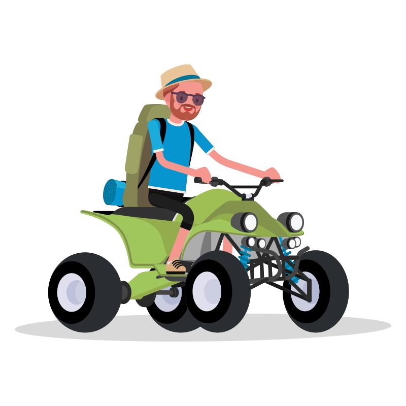 quad bike front